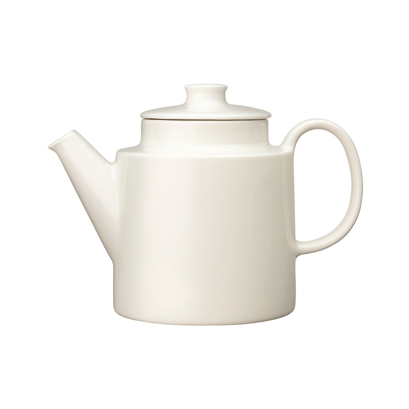 Iittala Teema 1.65L Teapot with Lid by Kaj Franck Olson and Baker - Designer & Contemporary Sofas, Furniture - Olson and Baker showcases original designs from authentic, designer brands. Buy contemporary furniture, lighting, storage, sofas & chairs at Olson + Baker.