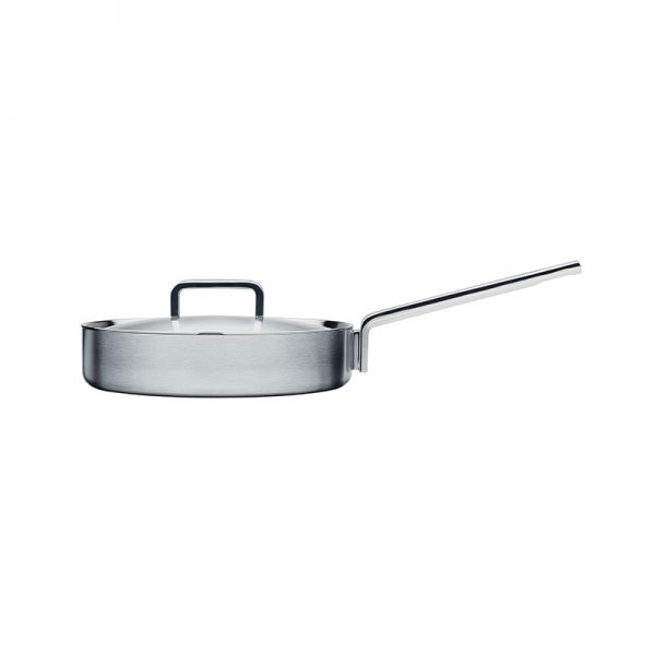 Iittala Tools Ø26cm Sauté Pan by Bjorn Dahlstrom Olson and Baker - Designer & Contemporary Sofas, Furniture - Olson and Baker showcases original designs from authentic, designer brands. Buy contemporary furniture, lighting, storage, sofas & chairs at Olson + Baker.