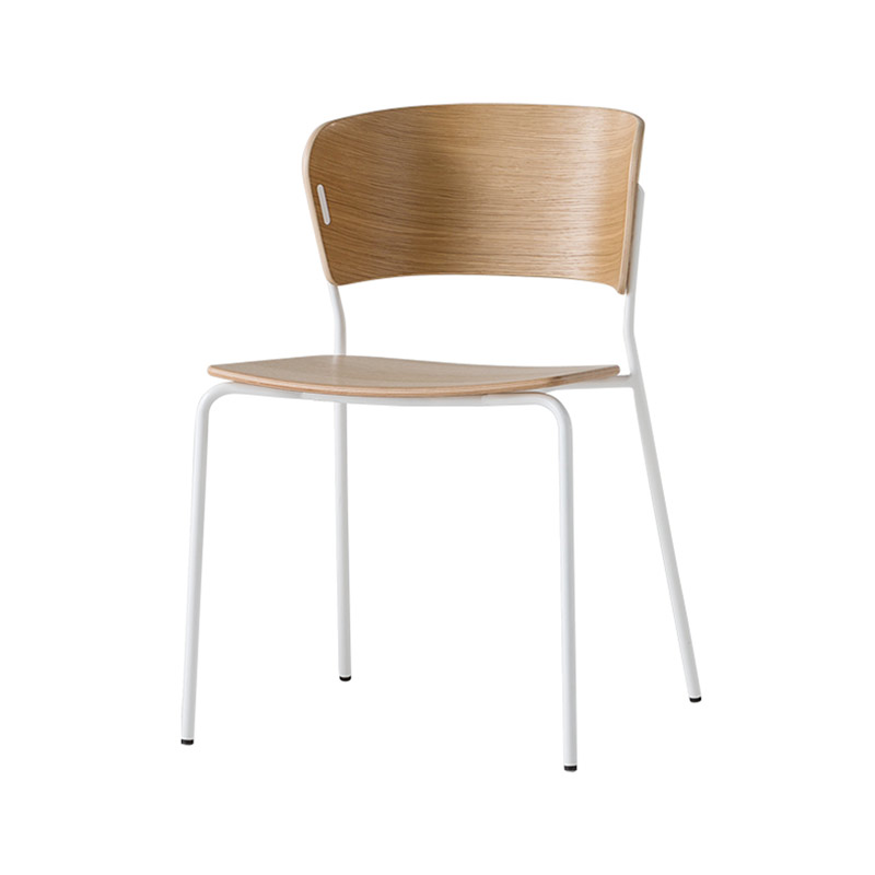 Inclass Arc Chair with Four Leg Base by Yonoh