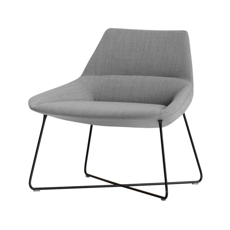 Inclass Dunas XL Low Back with Sled Base by Christophe Pillet