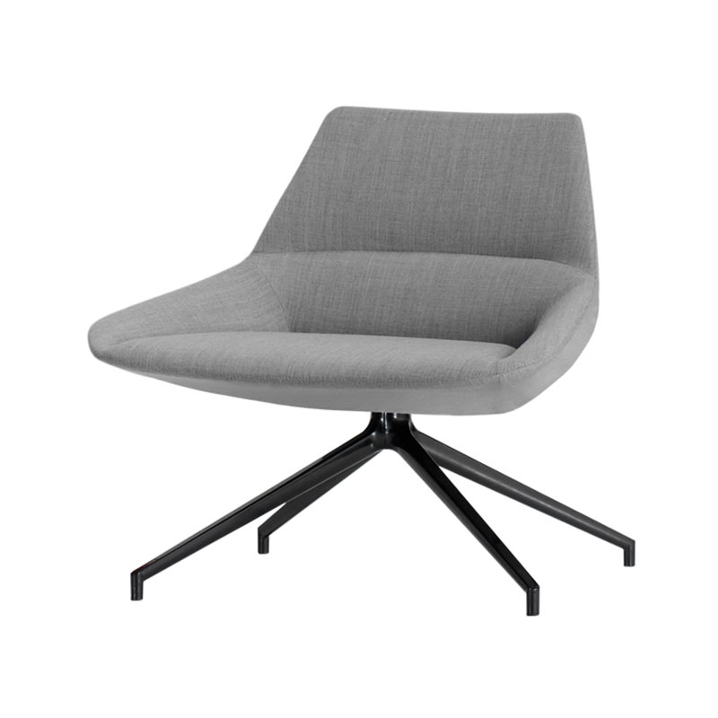 Inclass Dunas XL Low Back with Trestle Swivel Base by Christophe Pillet