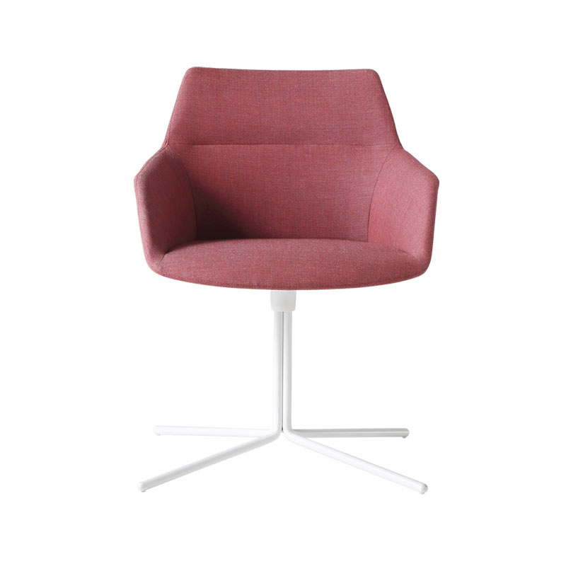 Inclass Dunas XS Armchair with Flat Swivel Base by Christophe Pillet