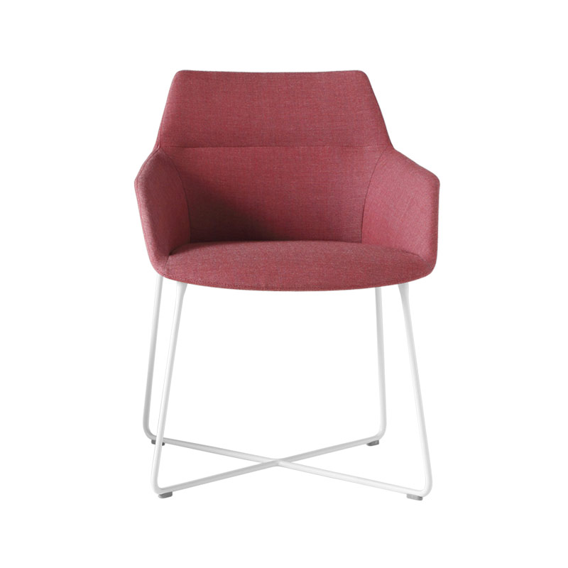 Inclass Dunas XS Armchair with Sled Base by Christophe Pillet