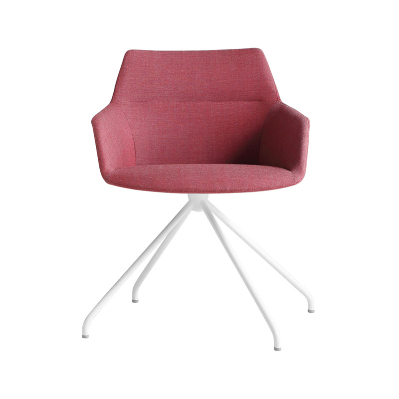 Inclass Dunas XS Armchair with Trestle Swivel Base by Christophe Pillet Olson and Baker - Designer & Contemporary Sofas, Furniture - Olson and Baker showcases original designs from authentic, designer brands. Buy contemporary furniture, lighting, storage, sofas & chairs at Olson + Baker.