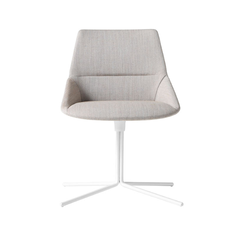 Inclass Dunas XS Chair with Flat Swivel Base by Christophe Pillet Olson and Baker - Designer & Contemporary Sofas, Furniture - Olson and Baker showcases original designs from authentic, designer brands. Buy contemporary furniture, lighting, storage, sofas & chairs at Olson + Baker.