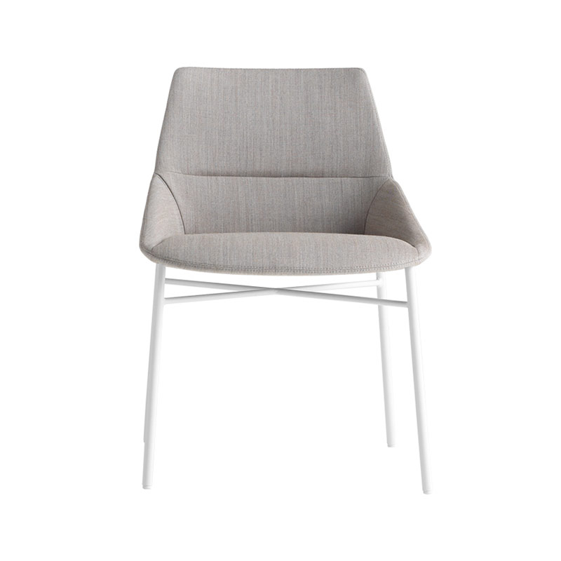 Inclass Dunas XS Chair with Four Leg Base by Christophe Pillet