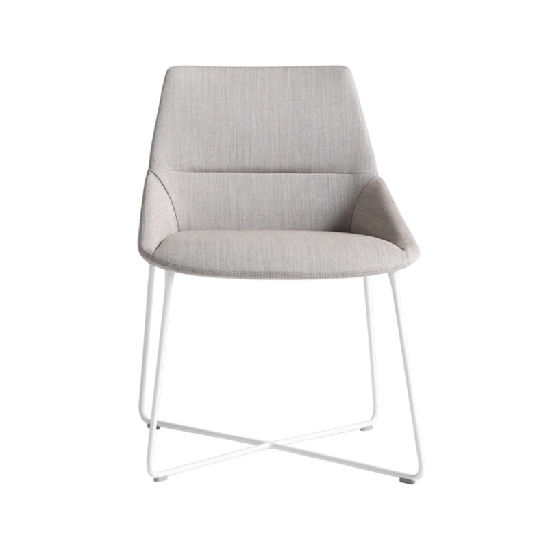 Inclass Dunas XS Chair with Sled Base by Christophe Pillet