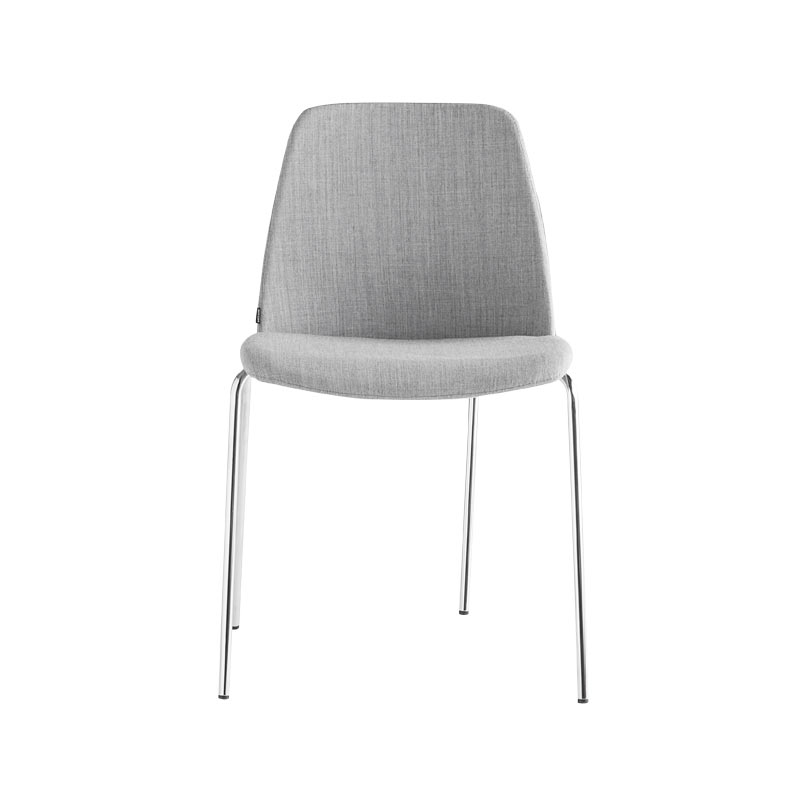 Inclass Unnia Upholstered Chair with Four Leg Base by Simon Pengelly Olson and Baker - Designer & Contemporary Sofas, Furniture - Olson and Baker showcases original designs from authentic, designer brands. Buy contemporary furniture, lighting, storage, sofas & chairs at Olson + Baker.