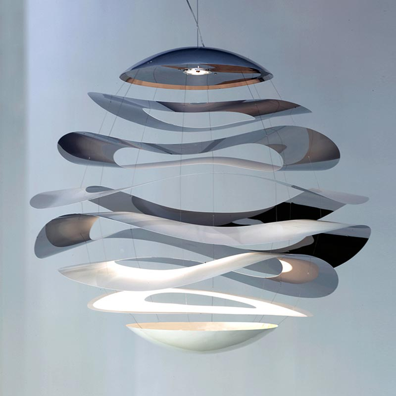 Innermost Buckle Pendant Light by Tina Leung