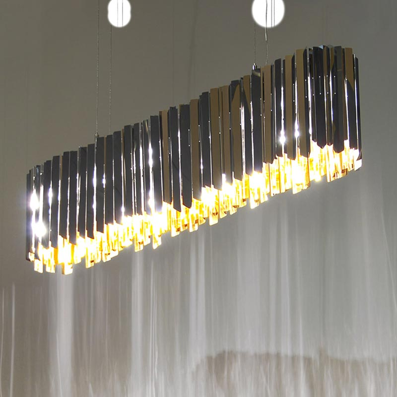 Innermost-Facet-Lozenge-Chandelier-by-Tom-Kirk-3 Olson and Baker - Designer & Contemporary Sofas, Furniture - Olson and Baker showcases original designs from authentic, designer brands. Buy contemporary furniture, lighting, storage, sofas & chairs at Olson + Baker.