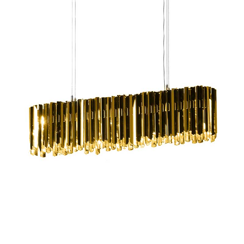 Innermost Facet Lozenge Chandelier by Tom Kirk Olson and Baker - Designer & Contemporary Sofas, Furniture - Olson and Baker showcases original designs from authentic, designer brands. Buy contemporary furniture, lighting, storage, sofas & chairs at Olson + Baker.