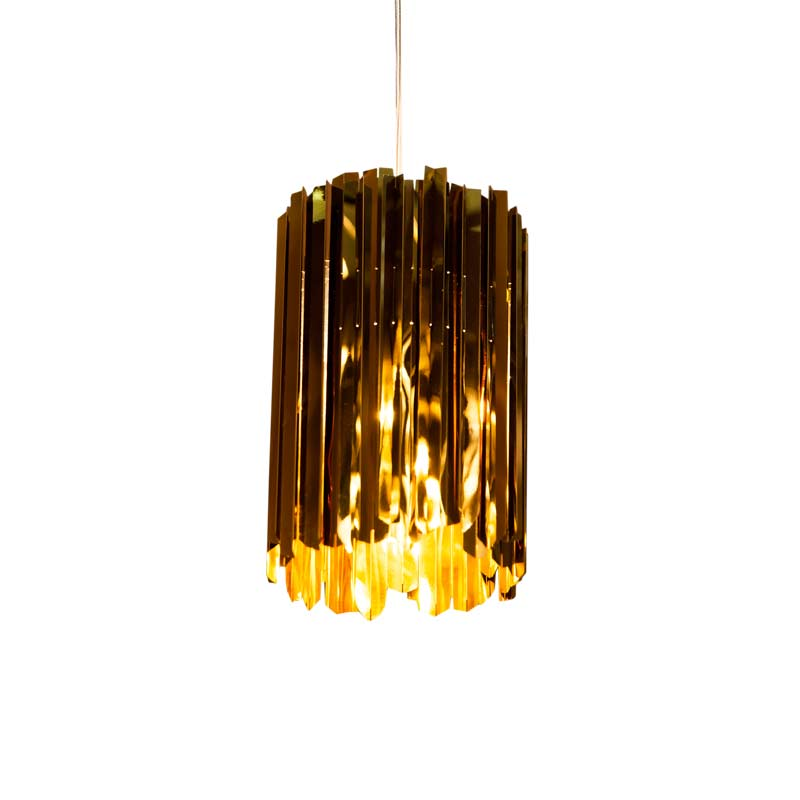 Innermost Facet Mini Pendant Light by Tom Kirk Olson and Baker - Designer & Contemporary Sofas, Furniture - Olson and Baker showcases original designs from authentic, designer brands. Buy contemporary furniture, lighting, storage, sofas & chairs at Olson + Baker.