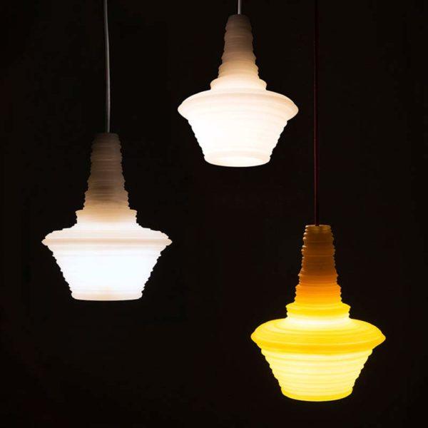 Stupa Pendant Light