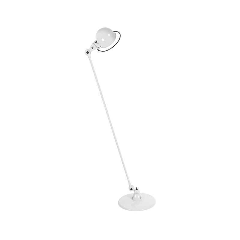 Jielde Loft D1200 Floor Lamp with One Arm by Jean-Louis Domecq Olson and Baker - Designer & Contemporary Sofas, Furniture - Olson and Baker showcases original designs from authentic, designer brands. Buy contemporary furniture, lighting, storage, sofas & chairs at Olson + Baker.