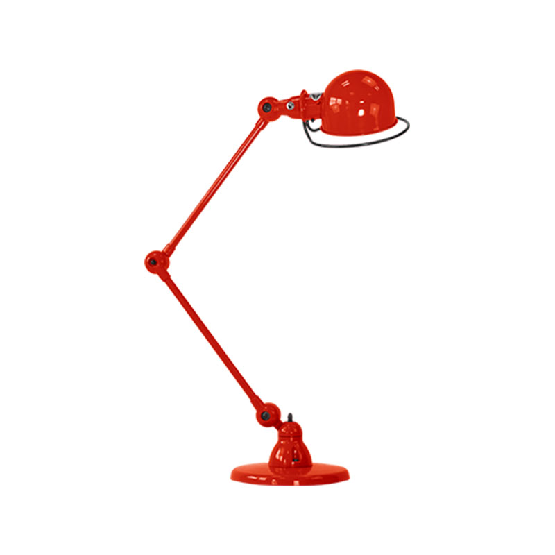 Jielde Loft D6440 Small Desk Lamp with Two Arms by Jean-Louis Domecq Olson and Baker - Designer & Contemporary Sofas, Furniture - Olson and Baker showcases original designs from authentic, designer brands. Buy contemporary furniture, lighting, storage, sofas & chairs at Olson + Baker.