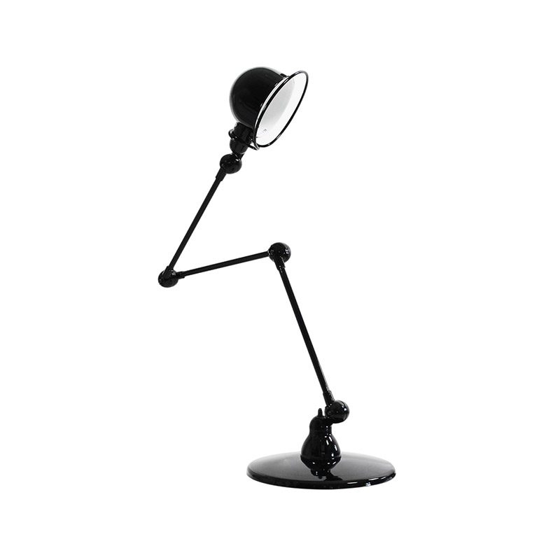 Jielde Loft D9403 Small Desk Lamp with Three Arms by Jean-Louis Domecq Olson and Baker - Designer & Contemporary Sofas, Furniture - Olson and Baker showcases original designs from authentic, designer brands. Buy contemporary furniture, lighting, storage, sofas & chairs at Olson + Baker.
