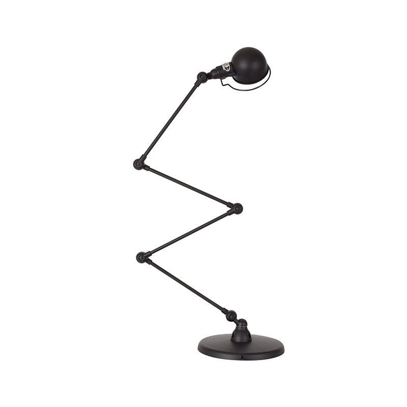 Jielde Signal SI433 Zig-Zag Desk Lamp with Four Arms by Jean-Louis Domecq Olson and Baker - Designer & Contemporary Sofas, Furniture - Olson and Baker showcases original designs from authentic, designer brands. Buy contemporary furniture, lighting, storage, sofas & chairs at Olson + Baker.