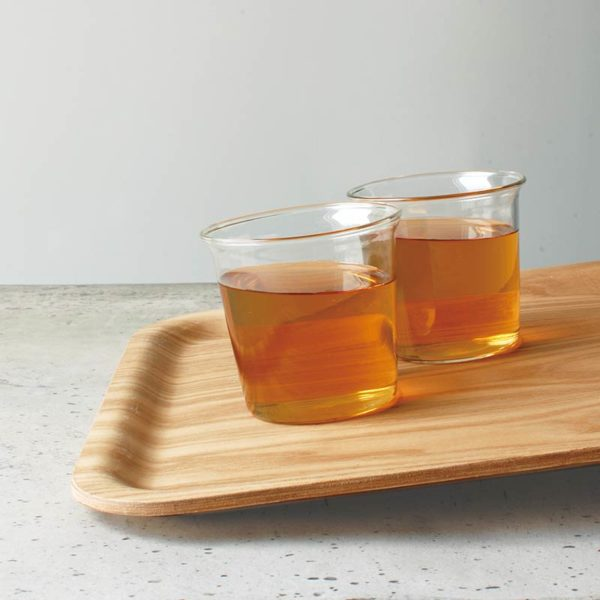 Clearance - Nonslip Rectangular Tray - Teak