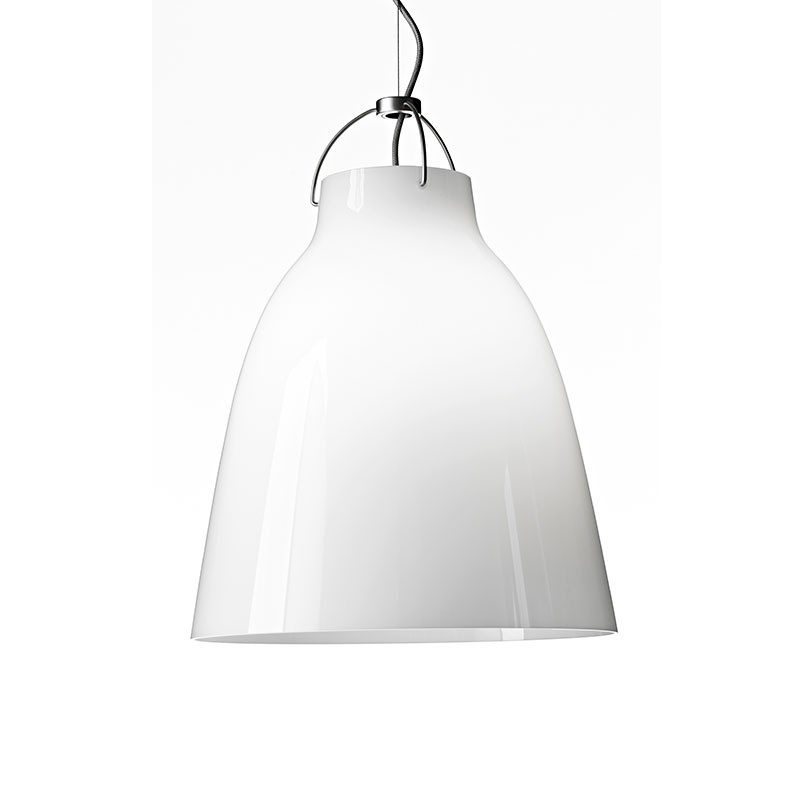 Fritz Hansen Caravaggio Opal Pendant Light by Cecilie Manz Olson and Baker - Designer & Contemporary Sofas, Furniture - Olson and Baker showcases original designs from authentic, designer brands. Buy contemporary furniture, lighting, storage, sofas & chairs at Olson + Baker.