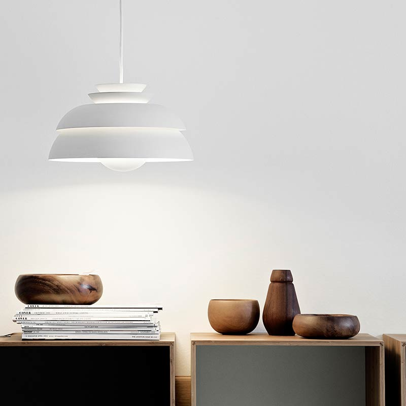 Lightyears-Concert-Pendant-Light-by-Jørn-Utzon-2 Olson and Baker - Designer & Contemporary Sofas, Furniture - Olson and Baker showcases original designs from authentic, designer brands. Buy contemporary furniture, lighting, storage, sofas & chairs at Olson + Baker.