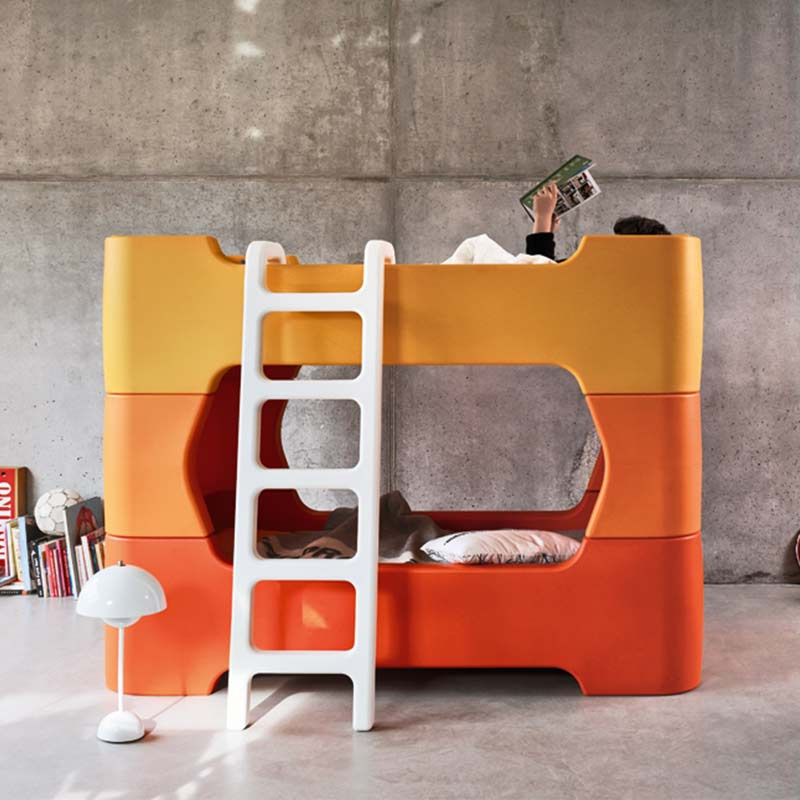 Magis-Bunky-Bed-by-Marc-Newson-1 Olson and Baker - Designer & Contemporary Sofas, Furniture - Olson and Baker showcases original designs from authentic, designer brands. Buy contemporary furniture, lighting, storage, sofas & chairs at Olson + Baker.