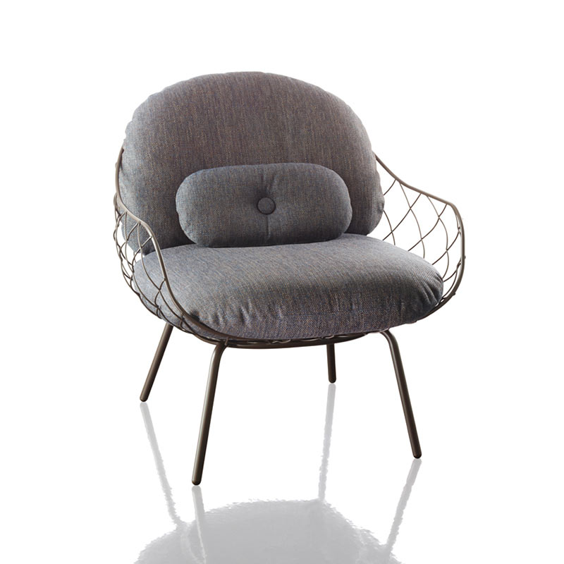 Magis Pina Lounge Chair by Jaime Hayon Olson and Baker - Designer & Contemporary Sofas, Furniture - Olson and Baker showcases original designs from authentic, designer brands. Buy contemporary furniture, lighting, storage, sofas & chairs at Olson + Baker.