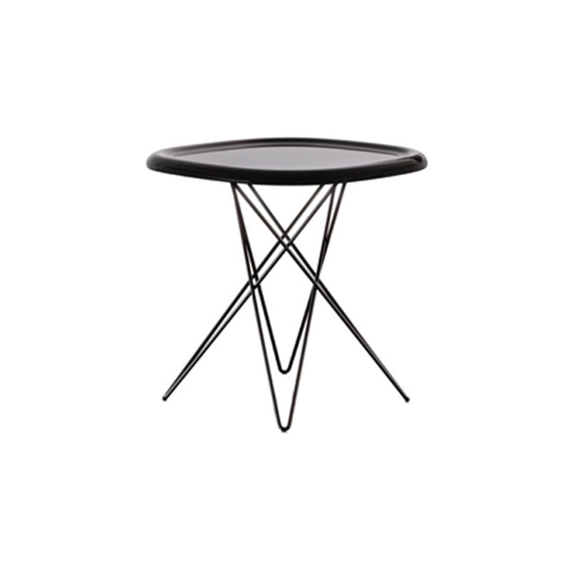 Magis Pizza Side Table by Naoto Fukasawa Olson and Baker - Designer & Contemporary Sofas, Furniture - Olson and Baker showcases original designs from authentic, designer brands. Buy contemporary furniture, lighting, storage, sofas & chairs at Olson + Baker.