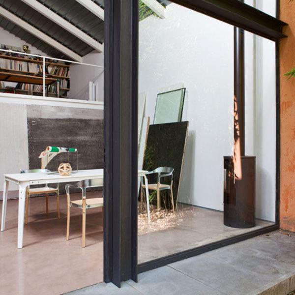 Steelwood 180x90cm Rectangular Table