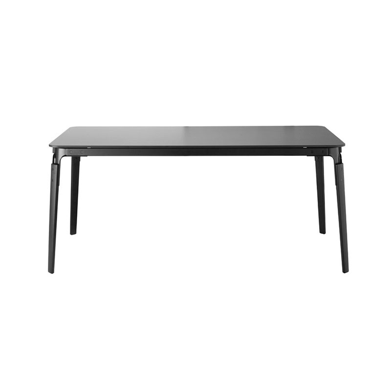 Magis Steelwood 180x90cm Rectangular Table by Ronan & Erwan Bouroullec Olson and Baker - Designer & Contemporary Sofas, Furniture - Olson and Baker showcases original designs from authentic, designer brands. Buy contemporary furniture, lighting, storage, sofas & chairs at Olson + Baker.