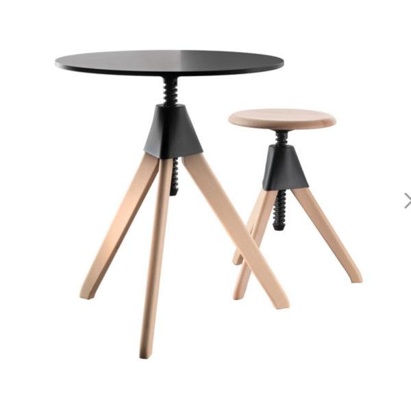 Topsy Ø60cm Adjustable Table - Wild Bunch