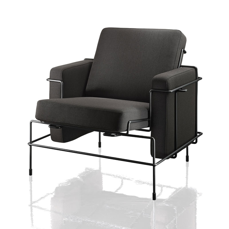 Magis Traffic Armchair Outdoor by Konstantin Grcic Olson and Baker - Designer & Contemporary Sofas, Furniture - Olson and Baker showcases original designs from authentic, designer brands. Buy contemporary furniture, lighting, storage, sofas & chairs at Olson + Baker.
