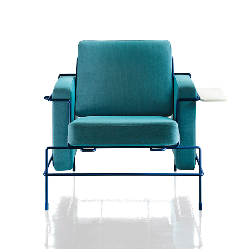 Magis Traffic Armchair by Konstantin Grcic Olson and Baker - Designer & Contemporary Sofas, Furniture - Olson and Baker showcases original designs from authentic, designer brands. Buy contemporary furniture, lighting, storage, sofas & chairs at Olson + Baker.