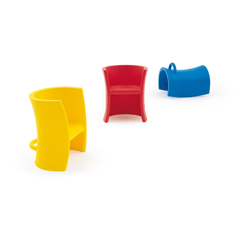 Magis-Trioli-Childrens-Chair-by-Eero-Aarnio-1 Olson and Baker - Designer & Contemporary Sofas, Furniture - Olson and Baker showcases original designs from authentic, designer brands. Buy contemporary furniture, lighting, storage, sofas & chairs at Olson + Baker.