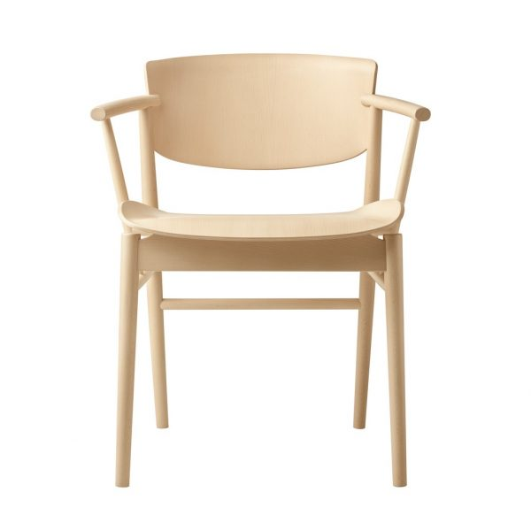 Top Ten All Wood Chairs - N01 Chair by Nendo 01 Olson and Baker - Designer & Contemporary Sofas, Furniture - Olson and Baker showcases original designs from authentic, designer brands. Buy contemporary furniture, lighting, storage, sofas & chairs at Olson + Baker.