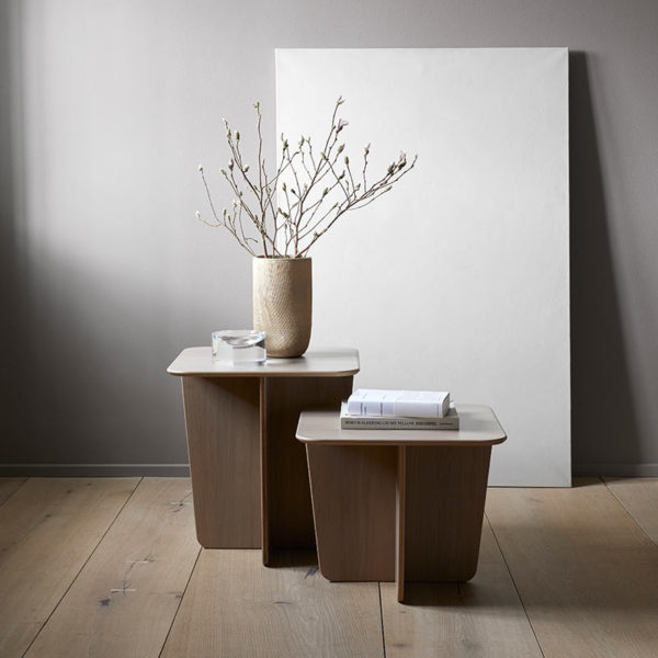 Tableau Square Side Table