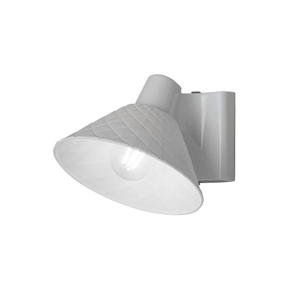 Original BTC Oxford 2 Bone China Pitched Wall Light by Original BTC Olson and Baker - Designer & Contemporary Sofas, Furniture - Olson and Baker showcases original designs from authentic, designer brands. Buy contemporary furniture, lighting, storage, sofas & chairs at Olson + Baker.