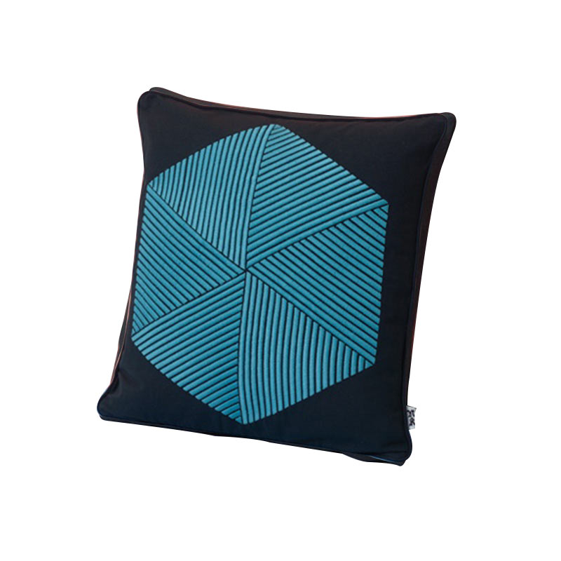 Case Furniture Hexagon Cushion by Nazanin Kamali Olson and Baker - Designer & Contemporary Sofas, Furniture - Olson and Baker showcases original designs from authentic, designer brands. Buy contemporary furniture, lighting, storage, sofas & chairs at Olson + Baker.