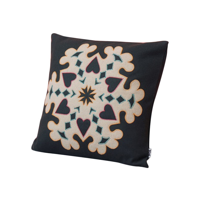 Case Furniture Snowflake Cushion by Nazanin Kamali Olson and Baker - Designer & Contemporary Sofas, Furniture - Olson and Baker showcases original designs from authentic, designer brands. Buy contemporary furniture, lighting, storage, sofas & chairs at Olson + Baker.