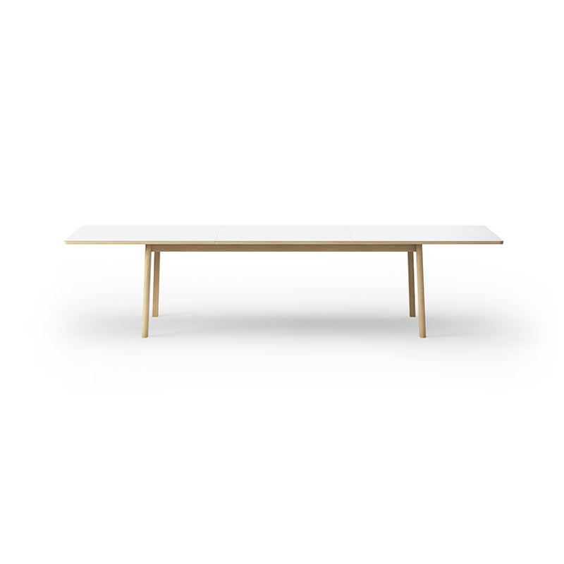 Fredericia Ana 95x230-320cm Extendable Dining Table by Arde 6 Olson and Baker - Designer & Contemporary Sofas, Furniture - Olson and Baker showcases original designs from authentic, designer brands. Buy contemporary furniture, lighting, storage, sofas & chairs at Olson + Baker.