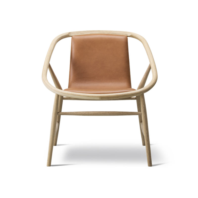 Fredericia Eve Front Upholstered Chair by Timo Ripati Olson and Baker - Designer & Contemporary Sofas, Furniture - Olson and Baker showcases original designs from authentic, designer brands. Buy contemporary furniture, lighting, storage, sofas & chairs at Olson + Baker.