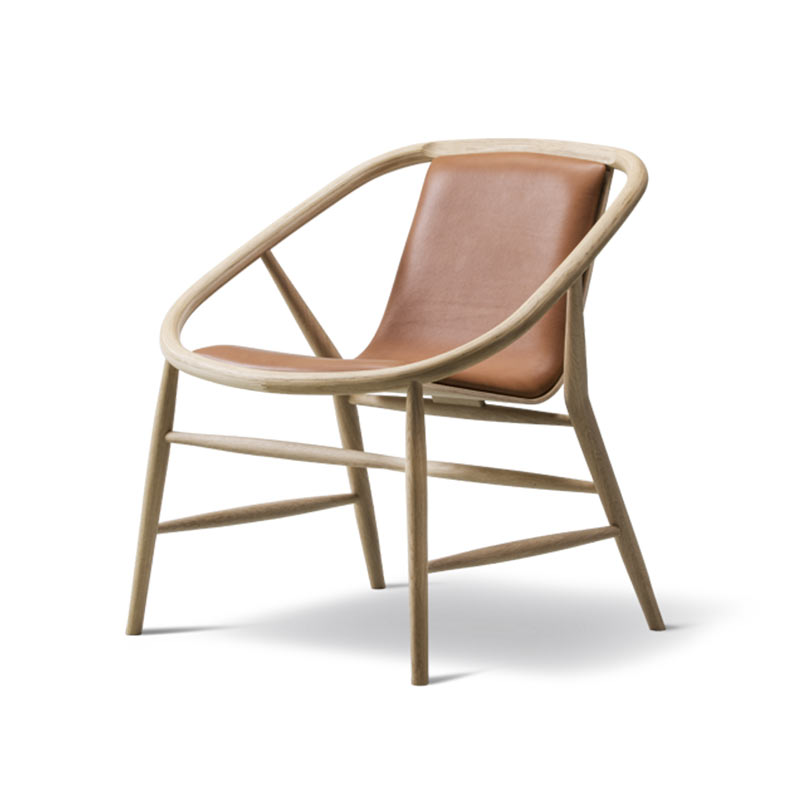 Fredericia Eve Front Upholstered Chair by Timo Ripati 2 Olson and Baker - Designer & Contemporary Sofas, Furniture - Olson and Baker showcases original designs from authentic, designer brands. Buy contemporary furniture, lighting, storage, sofas & chairs at Olson + Baker.