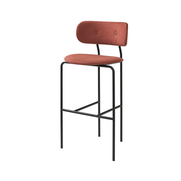 Gubi Coco Bar Stool by Oeo Studio Olson and Baker - Designer & Contemporary Sofas, Furniture - Olson and Baker showcases original designs from authentic, designer brands. Buy contemporary furniture, lighting, storage, sofas & chairs at Olson + Baker.
