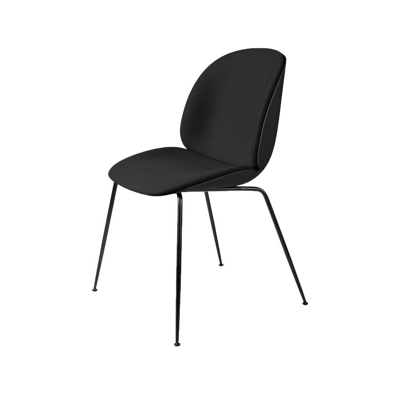 Gubi Beetle Seat Front Upholstered Stackable Dining Chair by Gam Fratesi Olson and Baker - Designer & Contemporary Sofas, Furniture - Olson and Baker showcases original designs from authentic, designer brands. Buy contemporary furniture, lighting, storage, sofas & chairs at Olson + Baker.