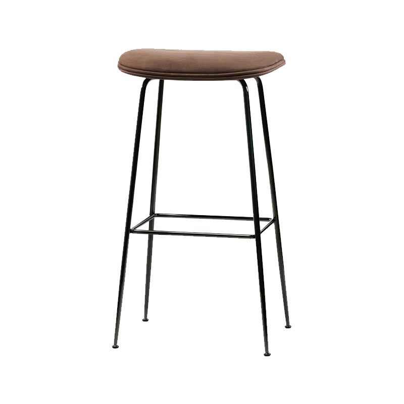 Gubi Beetle High Bar Stool by Gam Fratesi Olson and Baker - Designer & Contemporary Sofas, Furniture - Olson and Baker showcases original designs from authentic, designer brands. Buy contemporary furniture, lighting, storage, sofas & chairs at Olson + Baker.