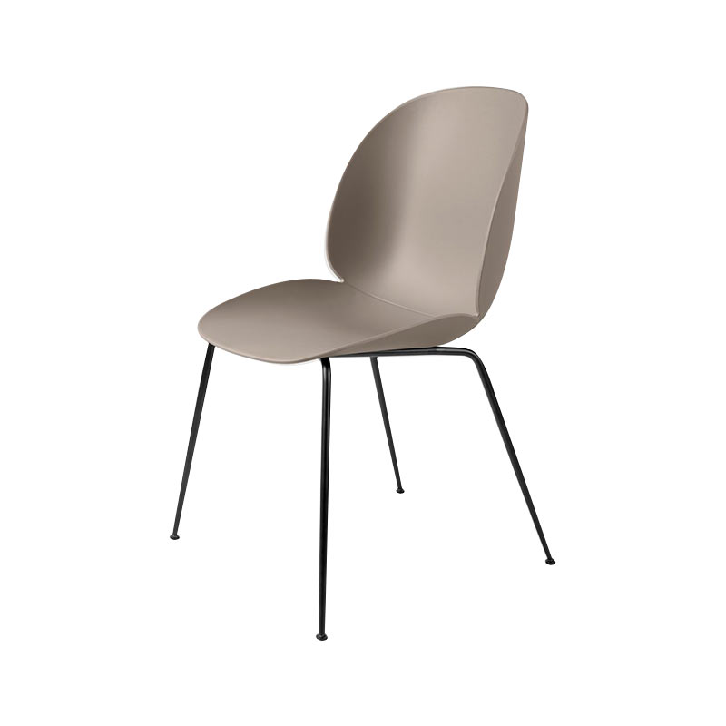 Gubi Beetle Stackable Dining Chair by Gam Fratesi Olson and Baker - Designer & Contemporary Sofas, Furniture - Olson and Baker showcases original designs from authentic, designer brands. Buy contemporary furniture, lighting, storage, sofas & chairs at Olson + Baker.