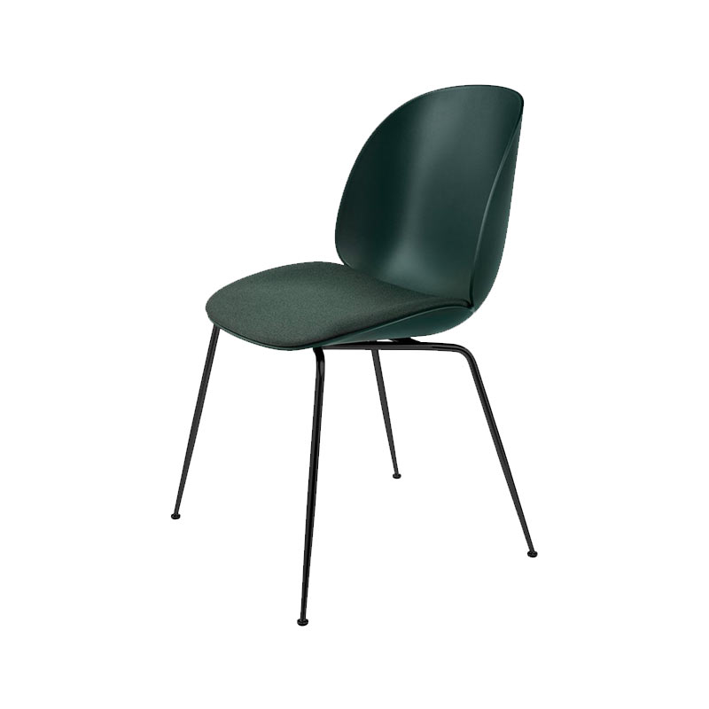 Gubi Beetle Seat Upholstered Stackable Dining Chair by Gam Fratesi Olson and Baker - Designer & Contemporary Sofas, Furniture - Olson and Baker showcases original designs from authentic, designer brands. Buy contemporary furniture, lighting, storage, sofas & chairs at Olson + Baker.