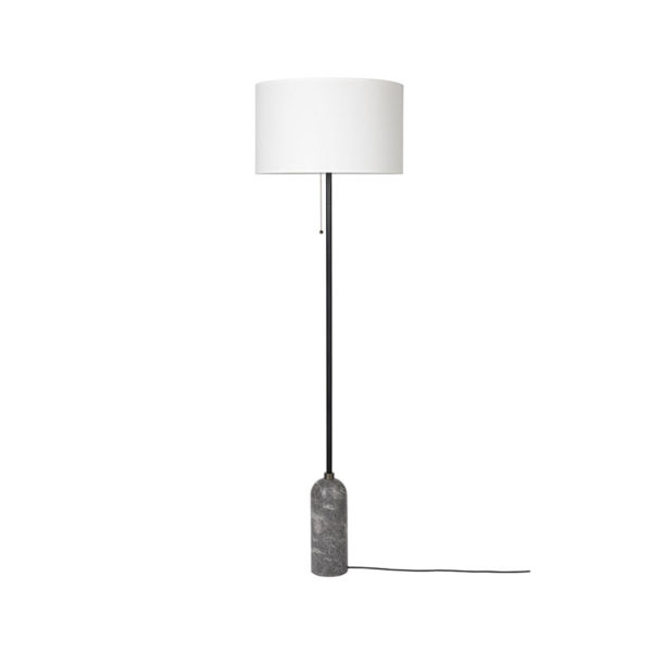 Gubi Gravity Floor Lamp by Space Copenhagen Olson and Baker - Designer & Contemporary Sofas, Furniture - Olson and Baker showcases original designs from authentic, designer brands. Buy contemporary furniture, lighting, storage, sofas & chairs at Olson + Baker.