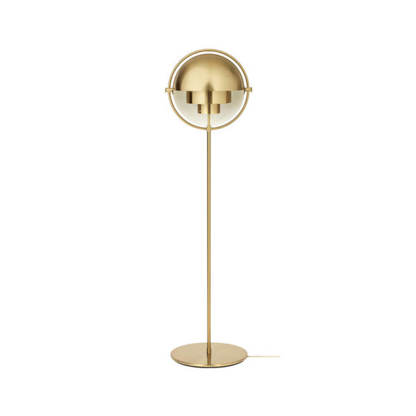 Gubi Multi-Lite Floor Lamp by Louis Weisdorf Olson and Baker - Designer & Contemporary Sofas, Furniture - Olson and Baker showcases original designs from authentic, designer brands. Buy contemporary furniture, lighting, storage, sofas & chairs at Olson + Baker.