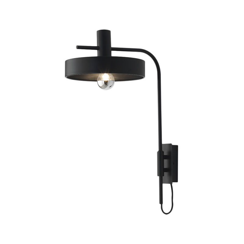 Aromas Dark Aloa Wall Lamp by Fornasevi Olson and Baker - Designer & Contemporary Sofas, Furniture - Olson and Baker showcases original designs from authentic, designer brands. Buy contemporary furniture, lighting, storage, sofas & chairs at Olson + Baker.