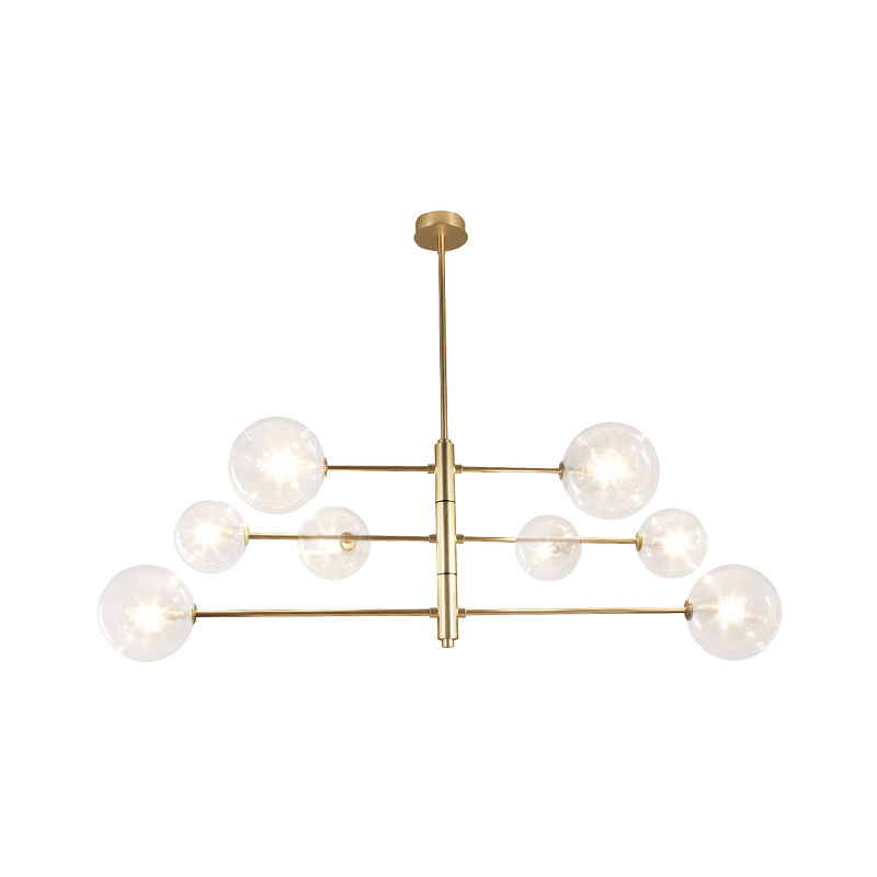 Aromas Atom Chandelier by AC Studio Olson and Baker - Designer & Contemporary Sofas, Furniture - Olson and Baker showcases original designs from authentic, designer brands. Buy contemporary furniture, lighting, storage, sofas & chairs at Olson + Baker.